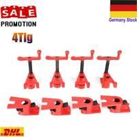 4x Schraubzwingen Set Zwinge 140x300 mm Schraubknecht Klemmzwinge 917008