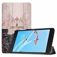 Case für Lenovo Tab E7 TB-7104F Hülle Smart Cover Tablet Schutz Tasche Etui Slim