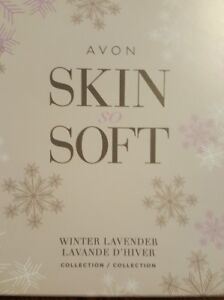 AVON Skin so Soft WINTER LAVENDER Collection Limited Edition