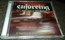 audio cd enforcing God's life in this body Christian help depression oppression