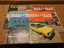Lot of 5 Road and Track Magazine 1959-1975