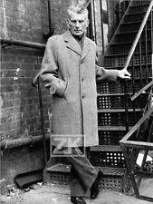 SAMUEL BECKETT Ecrivain Poète Irlandais France Godot Théatre Nobel Photo 70s #2