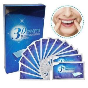 Strisce Sbiancanti Denti Professionali White Pulizia Dentale Igiene Kit