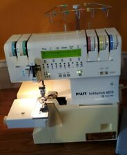 Serger pfaff hobbylock 4870 *****NOT TESTED AS IS***** Turns on
