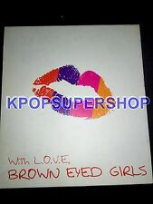 Brown Eyed Girls Mini Album With L.O.V.E Love CD Good Cond. Narsha Gain Rare OOP