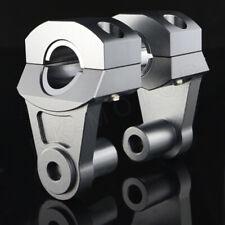 2X 22-28MM HandleBar Handle Fat Mount Clamp Riser Kits For Buell XB12X Ulysses