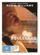 BOULEVARD DVD=ROBIN WILLIAMS=REGION 4 AUSTRALIAN RELEASE=NEW AND SEALED