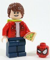 LEGO MARVEL SPIDER-MAN PETER PARKER MINIFIGURE - MADE OF GENUINE LEGO PARTS