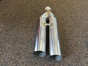 1320 Performance Blastpipes blast pipe exhaust STAINLESS UNIVERSAL MUFFLER V5