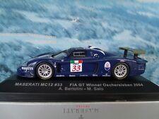 1/43 IXO Maserati MC12 #33 FIA GT Winner Oschersleben 2004