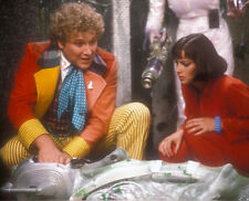 Colin Baker and Nicola Bryant UNSIGNED photo - H8056 - Doctor Who