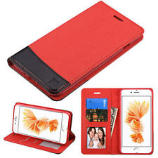 Matte Leather Card Pocket Cases & Covers for Apple Phones