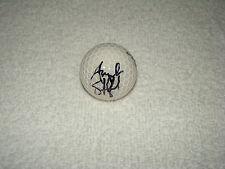 Angela Stanford Hand signiert TOP FLITE Golfball Unterschrift Autogramm LpGA