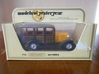 MATCHBOX MODELS OF YESTERYEAR Y21 - 1927 Ford Model A
