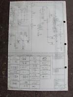1971 Ford Pinto Wiring Diagram Sheet Service Manual Ebay
