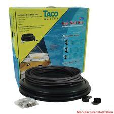 Taco Boat Rub Rail V11-2423BBK50-2 | Flexible 1 7/8 Inch x 50 Ft Black (Kit)