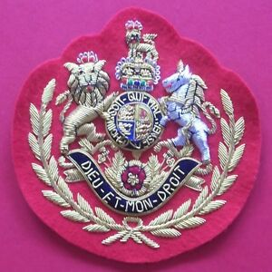 GUARDS ACADEMY SERGEANT MAJOR ARM BADGE - BRITISH FOOT GUARDS