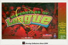 1996 NZ Rugby League Card Crazy Superstar Of League Factory Box (36 packs)