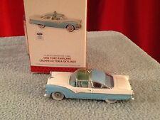 "Hallmark Keepsake ""1955 FORD FAIRLANE CROWN VICTORIA SKYLINE"" 2013  Ornament NEW"