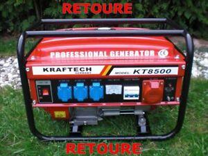 DEFEKT 4Takt 6500 Watt Benzin Stromerzeuger Generator Stromgenerator Notstrom