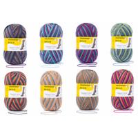 Regia Tweed Colour Socks 4 PLY Knitting Yarn Knit Wool Craft 100g Ball