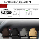 "Full Set 1/2""Thick Solid Nylon Interior Floor Carpet Mats For RHD Benz R171 04+"