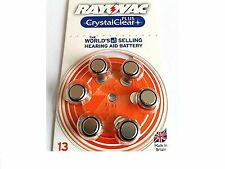 Rayvac Crystal Clear Hearing Aid Batteries CHEAPEST LOWEST BIN PRICE ON EBAY !!!