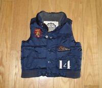 Boys BABY GAP Blue Puffer Vest Sz 18-24 Mos