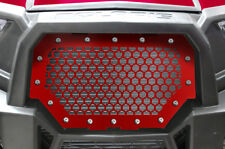 Custom Steel Grille Part HEX for Polaris RZR 1000 900 S XP 2014-18 RED ATV Grill