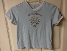 Vintage Argentina National Team Pullover Soccer Shirt Size Girls 10A by Celio
