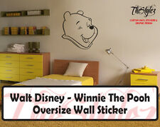 Walt Disney - Winnie The Pooh Cartoon Logo Wall Vinyl Sticker