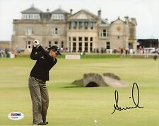 Annika Sorenstam 8x10 Photo Signed Autographed Auto Psa Dna Coa St Andrews Lpga
