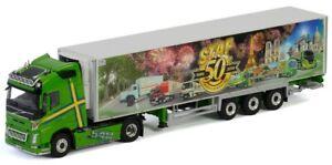 VOLVO FH4 540 Globetrotter XL 4x2 et remorque frigo Chereau transports STAF 50em
