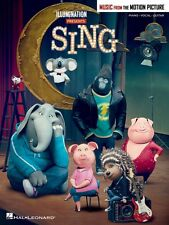 Sing Sheet Music from Movie Soundtrack Piano Vocal Guitar SongBook New 000222288