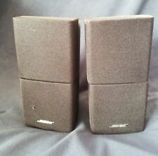 Pair of Bose Accoustimass Double Stack Satellite Surround Speakers