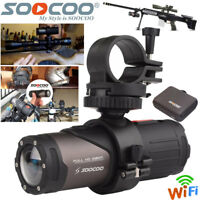 WIFI HD 1080P Sports Action Camera Bike Helmet Waterproof For Shotgun Camcorder