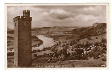 The Binn Tower - Perth Real Photo Postcard 1941 / Tay