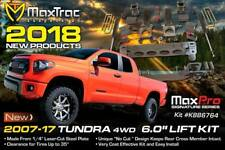 "MaxTrac K946764 6"" LIFT KIT W/ MaxTrac Shocks For 2007-2018 Toyota Tundra 4wd"