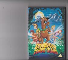 SCOOBY DOO ON ZOMBIE ISLAND DVD KIDS