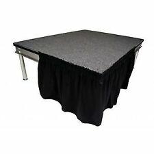 Black Pleated Stage Skirts 3M