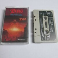 DIO THE LAST IN LINE CASSETTE TAPE 1984 GREEN PAPER LABEL VERTIGO UK