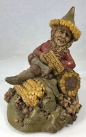 "Tom Clark Gnome #6 Kernel with Corncobs #75 Cairn Studios 6.75"" Early Figurine"