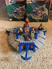 LEGO STAR WARS SET 9499 GUNGAN SUB  + INSTRUCTIONS XTRA RARE MINI FIGS