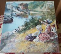 GIBSONS Summer Colours 1000 Pce JIGSAW PUZZLE Dianne Flynn Complete River View