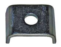 50 St. Halteklammern Profilhalter f. C-Profile 27x18 mm