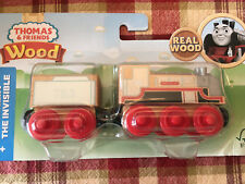 NEW Thomas & Friends Wood Merlin The Invisible Train Engine Tender Car