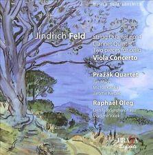 JINDRICH FELD: STRING QUARTET NO. 4; CLARINET QUARTET; TWO PIECES FOR CELLO; VIO