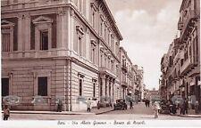 BARI CITTÀ 88 BANCA BANCO di NAPOLI Cartolina FOTOGRAFICA viaggiata 1941