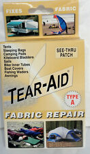TEAR AID Repair Patch Tear Hoe - Leather Fabric Cloths inflatables water bed