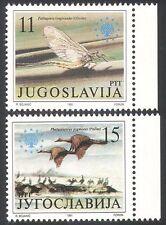 Yugoslavia 1991 Birds/Insect/Mayfly/Cormorant/Nature 2v (n21360)